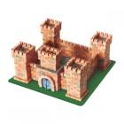 Kit constructie caramizi Wise Elk Castelul Dragonilor 1080 piese reutilizabile