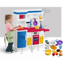 "Bucatarie ""Gateste & Serveste"" - Little Tikes"