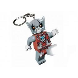 Breloc cu lanterna LEGO Chima Worriz (LGL-KE37)