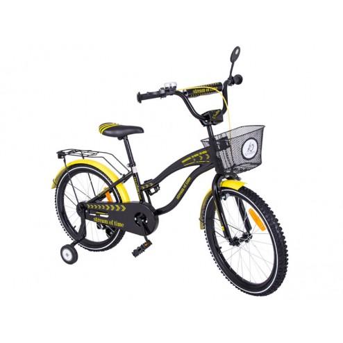 Bicicleta copii MyKids Toma Exclusive 2004 Yellow