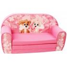 Canapea extensibila din burete pentru copii Love Is In The Air Trade