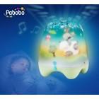 Lampa de veghe pentru copii si bebelusi Pabobo cu cantece linistitoare cu senzor pentru plansul copiilor