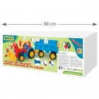Tractor gigant cu remorca si incarcator 110cm - Wader