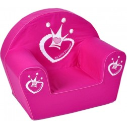 Fotoliu din burete My Little Princess pentru copii - Knorrtoys