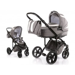 Carucior copii 2 in 1 cu landou MyKids Volkswagen Carbon Optik Grey
