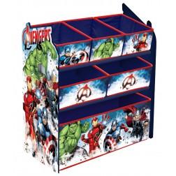 Organizator jucarii cu cadru din lemn Avengers