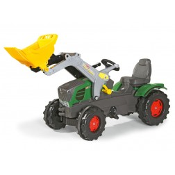 Tractoras copii cu pedale Rolly Toys 611058