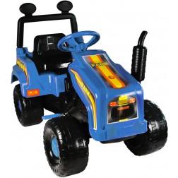 Tractor cu pedale Mega Farm albastru Super Plastic Toys