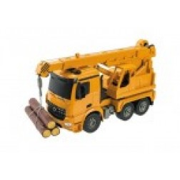 Camion lemne Mercedes Arocs cu telecomanda Mondo 63511 scara 1:20 cu lemne incluse