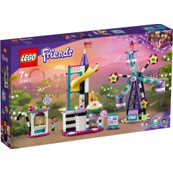 LEGO Ferris Wheel magic si tobogan