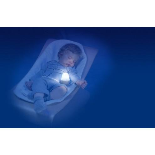 Lampa de veghe pentru copii si bebelusi Pabobo Super Nomade Lion cu LED