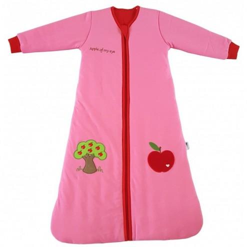 Sac de dormit cu maneca lunga Pink Fairy 6-18 luni 2.5 Tog