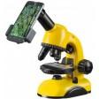 Microscop 40-800x cu adaptor pentru telefonul mobil si accesorii, National Geographic