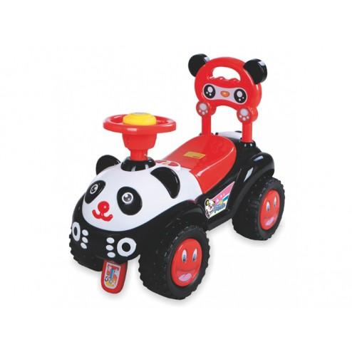 Masinuta de impins copii Baby Mix Panda ZDX7601 Black