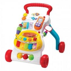 Antepremergator bebelusi Winfun cu minipian detasabil si telefon