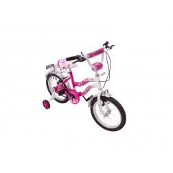 Bicicleta Pentru Copii MyKids Bike 16 Roz