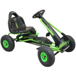 Kart cu pedale Speed Fever Green