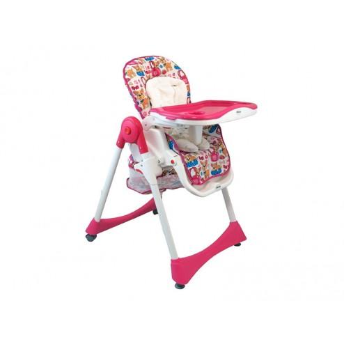 Scaun de masa pentru copii Baby Mix YB 602 2861 Pink
