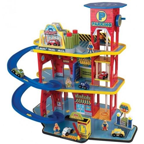 Set de joaca Deluxe Garage