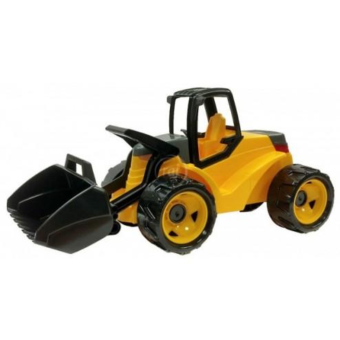 Excavator plastic cu cupa de 80 cm Lena galben cu negru