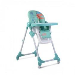 Scaun de masa  pentru copii Moni Kimchi Turquoise