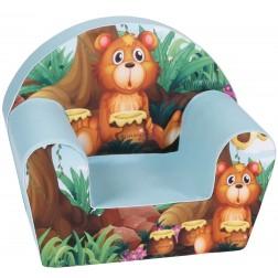 Fotoliu din burete pentru copii Baby Bear Trade