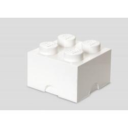 Cutie depozitare LEGO 2x2 alb (40031735)