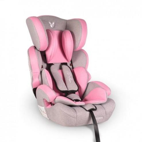 Scaun Auto Cangaroo Deluxe Pink, 9-36 Kg