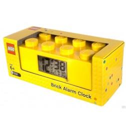 Ceas desteptator LEGO caramida galbena, 9002144