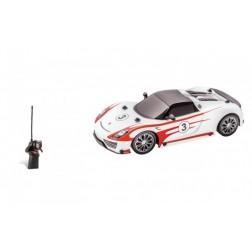 Masinuta telecomanda Mondo pentru copii Porsche 918 Spyder Salzburg Racing scara 1:16 cu acumulatori