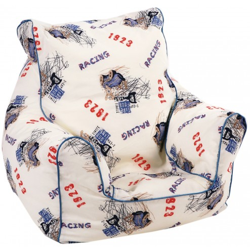 Fotoliu pentru copii Bean Bag Racing Trade