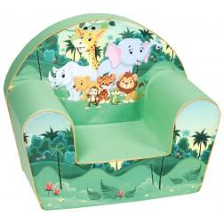 Fotoliu din burete pentru copii Safari Trade