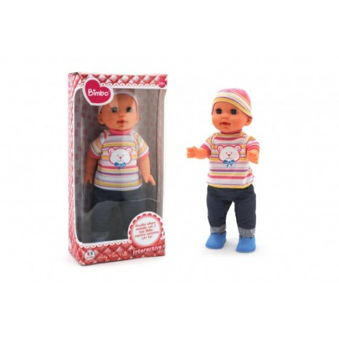 Papusa bebe care merge, 41 cm