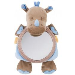 Jucarie din plus cu oglinda Rinocerul Louis