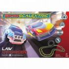 Set Scalextric cu 2 masinute SUV Politie si Concept Mtraseaelstrom