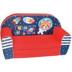 Canapea extensibila din burete pentru copii Kids Space Trade