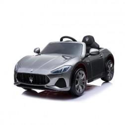 Masinuta electrica neagra pentru copii Maserati GL 6V