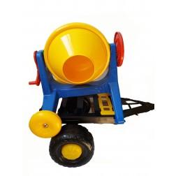 Betoniera cu platforma pentru transport Hobby Work Super Plastic Toys