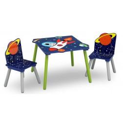 Set masuta si 2 scaunele Astronaut