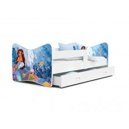 Patut Tineret MyKids Tomi 64 Little Mermaid-160x80