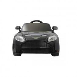 Masinuta electrica copii Aston Martin Vantage Negru Jamara 6V cu telecomanda control parinti 2.4 Ghz si MP3 player cu card memorie SD inclus