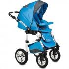 Carucior Flamingo Easy Drive 3 in 1 albastru - Vessanti