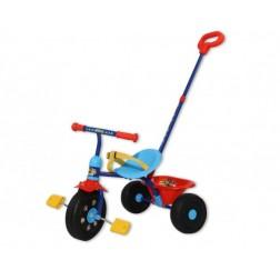 Tricicleta copii Saica Paw Patrol cu maner control pentru parinti