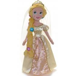 Papusa din plus Rapunzel mireasa