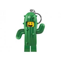 Breloc LEGO cu LED - Baiatul Cactus