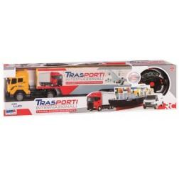 Camion cu telecomanda si lumini - RS Toys