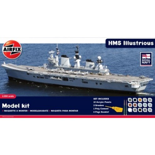 Kit constructie portavion HMS Illustrious