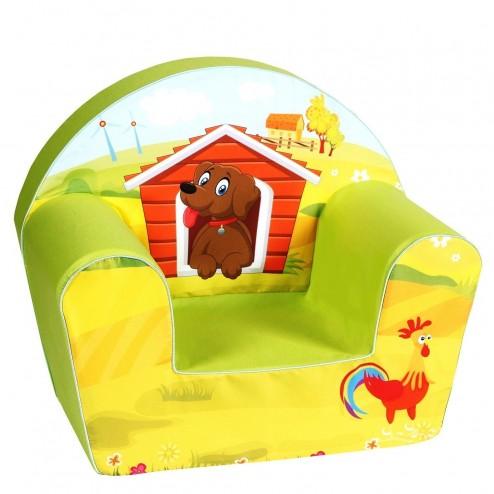 Fotoliu din burete Dog on a Farm - Knorrtoys