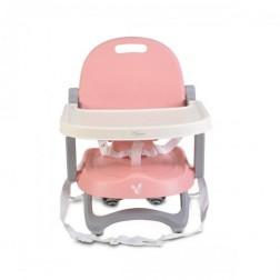 Scaun de masa inaltator Cangaroo Papaya Pink