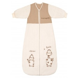 Sac de dormit cu maneca lunga Cartoon Animal 0-6 luni 2.5 Tog